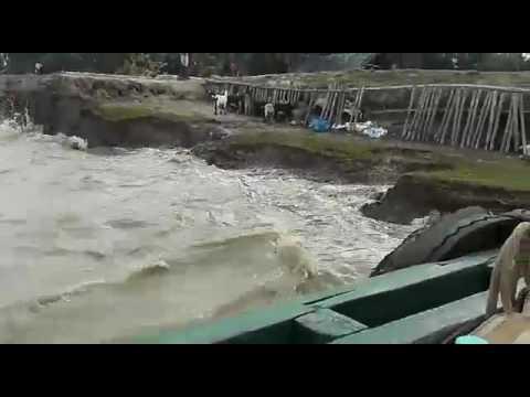 Erosion in Ghoramara Island