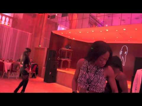 Kalyss K au Salon Hoche à la soirée de gala de Freddy Zanga