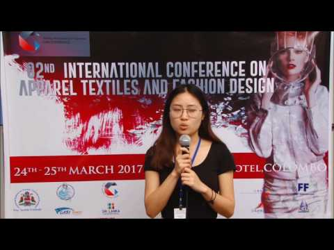 Dr. Zhang Ya - zh-cn - 02nd International Conference on Apparel Textiles and Fashion Design