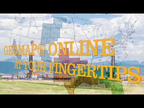 Geomap® Online Petroleum Geology At Your Fingertips