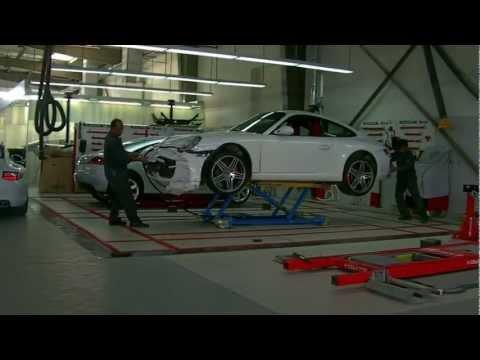 Porsche Centre in Bahrain use Cartar Mobile lifts