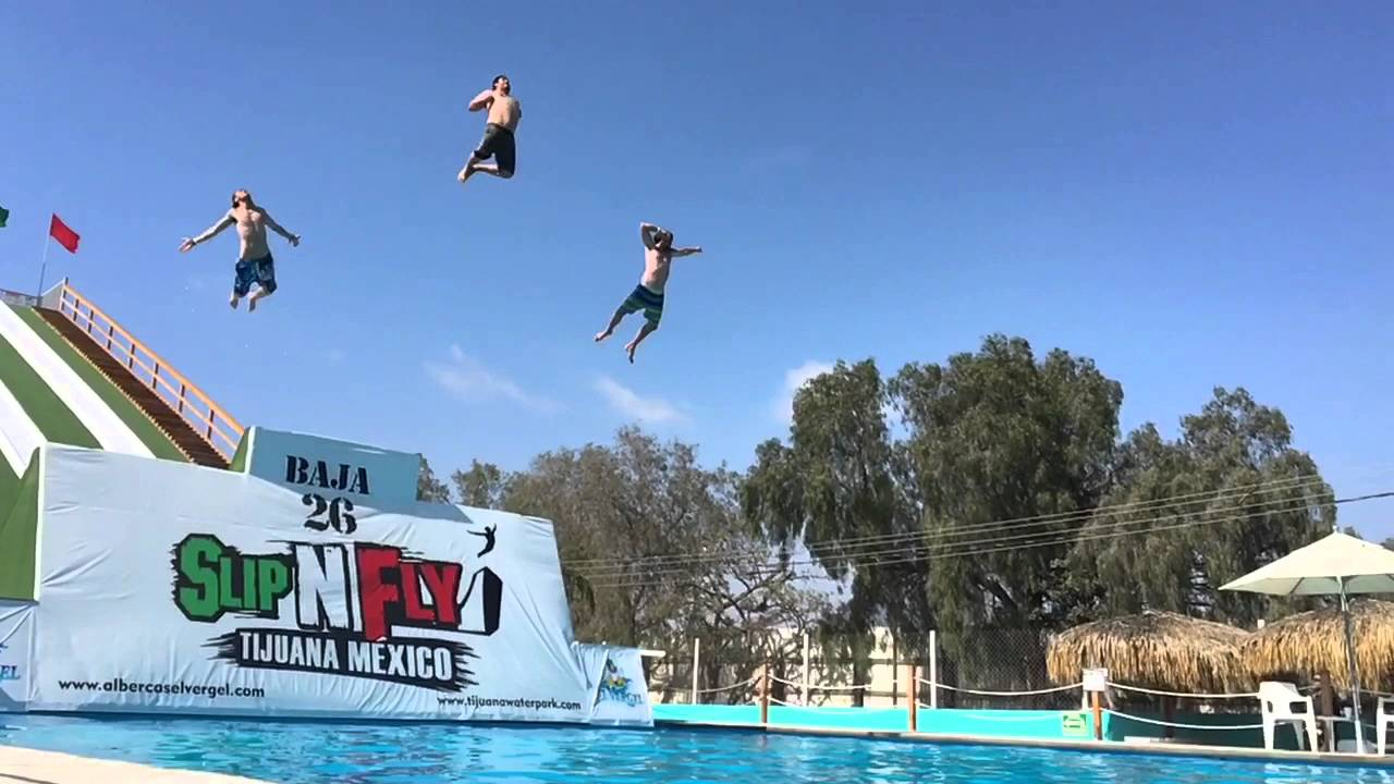 Slip N Fly At El Vergel Youtube
