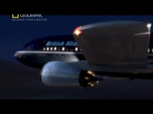 British Midland Flight 92 Crash Animation 2 Youtube