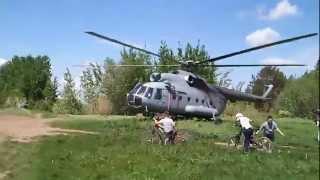 Взлет вертолета Ми 8 (Добрянка).mp4