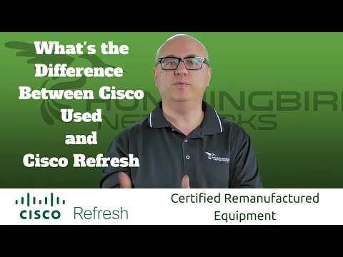 Cisco Used Vs Certified Cisco Refresh: What's The Difference?