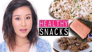 Yummy & Healthy Snack Ideas! | xteeener