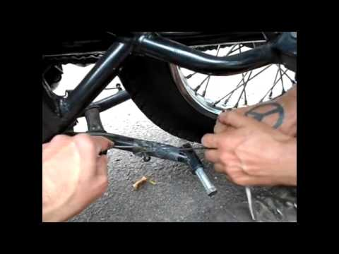 Replace Center Stand And Install Stand Springs Of