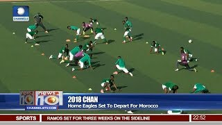 Home Eagles Set to Depart For Morocco Pt.4 |News@10| 06/01/18