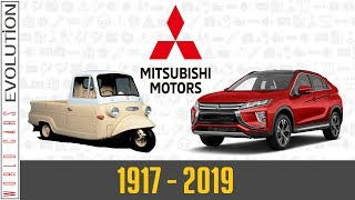 W.C.E - Mitsubishi Evolution (1917-2019)
