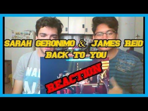 Sarah Geronimo & James Reid - Back To You REACTION