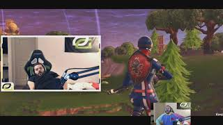 Courage Reacts To His Fortnite Montage
