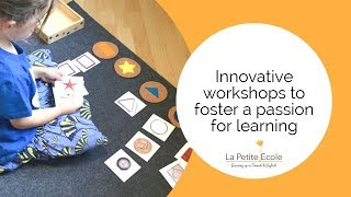 Innovative workshops to foster a passion for learning