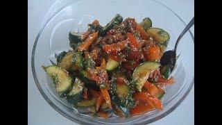 Салат из кабачков. Маринкины творинки