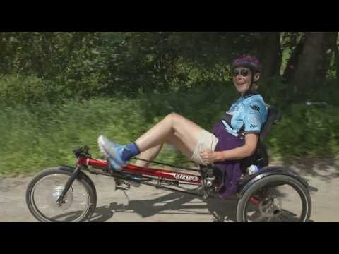 Cycling with Parkinson's on the Hase Kettwiesel recumbent trike