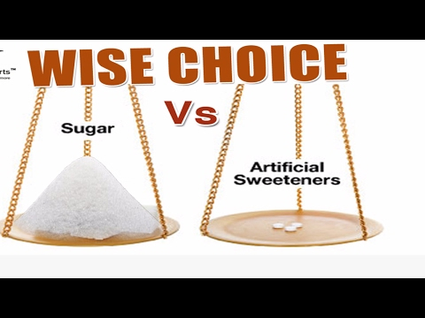 Sugar  Vs. Artificial Sweetener ? Comparison ☀ Difference ☀Explained