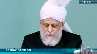 Cuma Hutbesi Türkçe tercümesi 27 Mayis 2011 - Islam Ahmadiyya