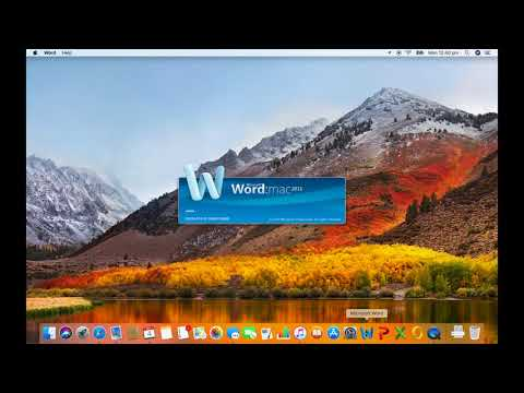 Does Office 2011 work on macOS 10.13 High Sierra? Yes