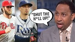 Bryce Harper CALLED OUT By Stephen A Smith! Blake Snell Comments, Nolan Arenado (MLB Recap)