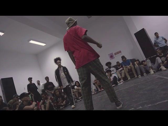 ♦ Battle of the night ♦ WIDE vs LUFFY ♣ 1vs1 Hip-Hop Semi-Final | Breakreate X Urban Whyz Festival