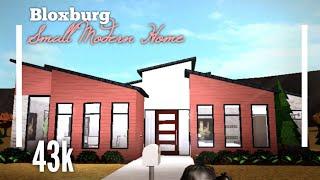 (43K) NO GAMEPASS Modern House SpeedBuild - Bloxburg ROBLOX
