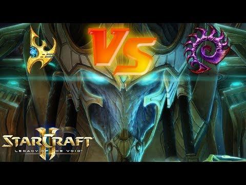 StarCraft II: Gameplay - Ranked Ladder Match #1 (Protoss VS Zerg)