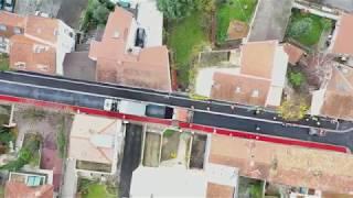 [Biophalt®] Un enrobé éco-responsable appliqué à Montreuil (93) par Eiffage Route
