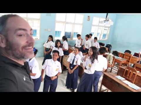VISITING A MIDDLE SCHOOL IN INDONESIA | SMP Angkasa Adisucipto