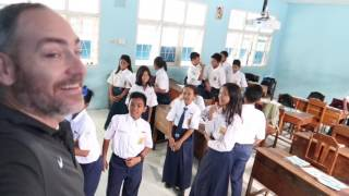 Video VISITING A MIDDLE SCHOOL IN INDONESIA | SMP Angkasa Adisucipto download MP3, 3GP, MP4, WEBM, AVI, FLV September 2018