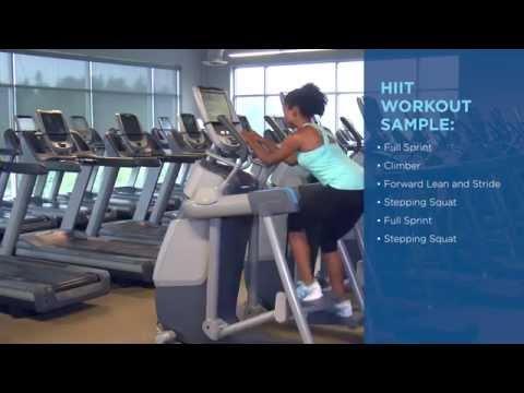 Precor Education AMT HIIT Workout