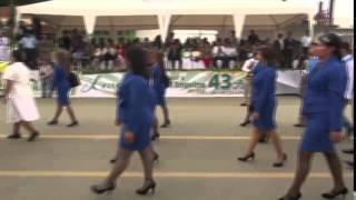 Desfile Cívico Estudiantil y Militar El Empalme 2014