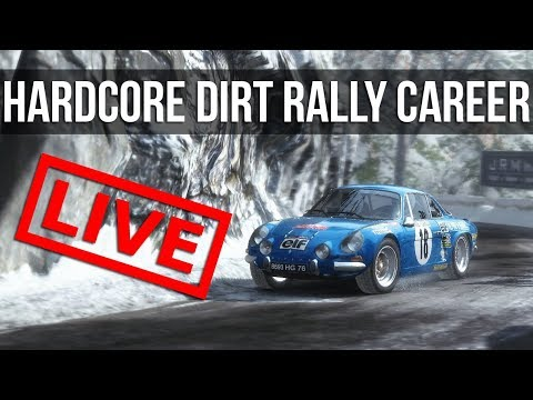 Dirt Rally - LIVE Hardcore Career Mode: 70's Championship