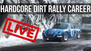 �������� ���� Dirt Rally - LIVE Hardcore Career Mode: 70's Championship ������