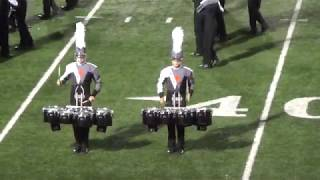 Winter Park High School Marching Band Performs West Side Story