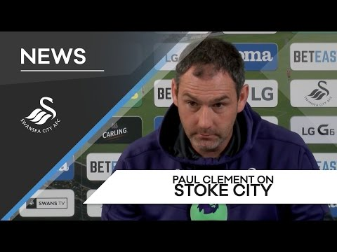 Swans TV - Preview: Paul Clement ahead of Stoke