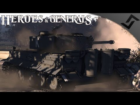 Tiger I's 88mm Best Anti Air - Heroes and Generals - German Tanker Gameplay