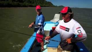 How to catch fish in estuaries with soft plastic lures