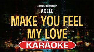 Download Make You Feel My Love (Piano Version) KARAOKE - Adele Mp3 and Videos