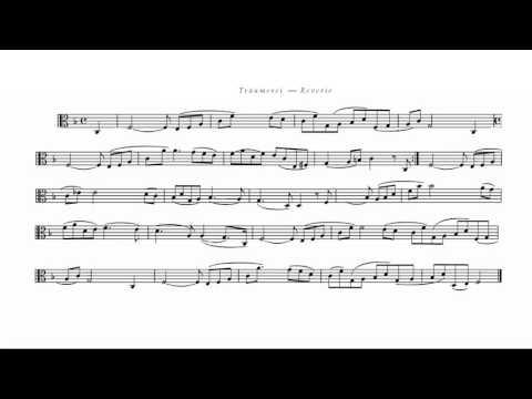 Reverie Schumann Op 15 no 7