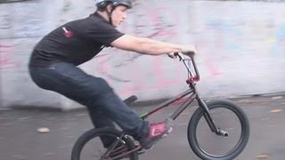 How To Do The Manual BMX Trick