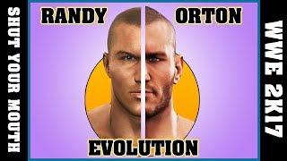 RANDY ORTON evolution [SMACK DOWN - WWE 2K17]