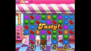 Candy Crush Saga - Level 1447 (3 star, No boosters)