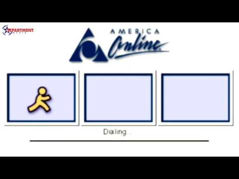 America Online (AOL) Dial-up | Retro Login