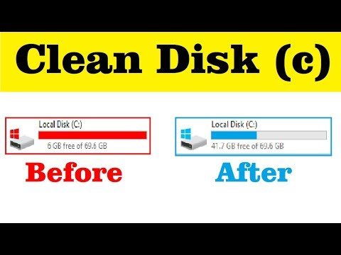 How To Clean Local Disk (c) In Windows 100% Faster Your System