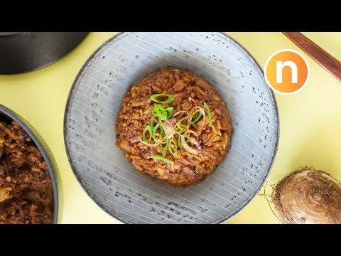 Yam Rice | Taro rice | 芋头饭 [Nyonya Cooking]