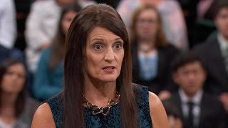 "Former Priest's Second Wife Hears Dr. Phil's Thoughts About ""Mocking"" First Wife Who Was Mourning…"