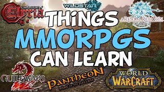 Things MMORPG's Can Learn From Other Genres