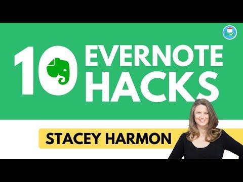 10 Evernote Hacks & Tips