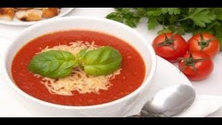 Turkish Tomato Soup / Tomato Soup-Puree
