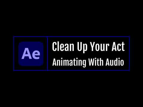 Clean Up Your Act - Audio Animatiion