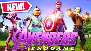 Killed Thanos with AIMBOT at FORTNITE x AVENGERS ENDGAME event
